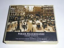 Period Backgrounds - Sound Effects From The British Library Sound Archive CD