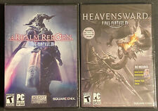 Final Fantasy Xiv A Realm Reborn and Heavensward Expansion for Pc New Sealed