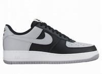 Nike Air Force 1 «Black/Lt Grey/White»  - Men's Size 8/Womens Size 9.5