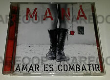 Amar Es Combatir by Mana (CD, 2006, WEA) MADE IN ARGENTINA
