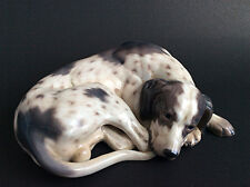 Royal Copenhagen Dahl Jensen pointer hunting dog porcelain figurine