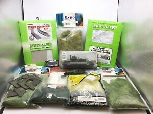 Job Lot of Assorted N Gauge Kits/Scenics/Accessories