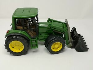 Bruder John Deere  Tractor With Front Loader Model Age 3+ (USED needs Clean)