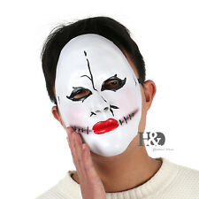 Horror Latex Clown Red Mouth Halloween Mask Masquerade Fancy Party Costume Dress
