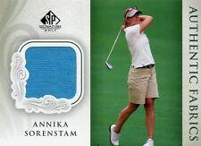2004 SP SIGNATURE AUTHENTIC FABRICS ANNIKA SORENSTAM TOURNAMENT WORN SHIRT