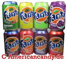 Exóticas fantasorten: 24x 330ml Fanta Mix (11 variedades de selección) (4,29 €/L)