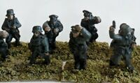 15mm wwii Old Glory Command Decision painted German command.