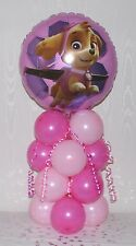 PAW PATROL - NICKELODEON - NEW - PINK -FOIL BALLOON DISPLAY - TABLE CENTREPIECE