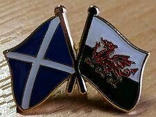 WALES & SCOTLAND FRIENDSHIP Metal Lapel Pin Badge *NEW*