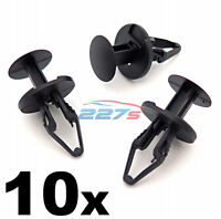 10x 8mm Plastic Rivets for Vauxhall & Opel Cars- Wheel Arch Linings, Bumpers etc