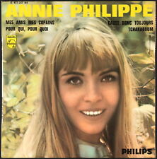ANNIE PHILIPPE - 1966 France EP 45 tours Philips 437 237 BE