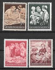 "Germany Third Reich Mi# 869-872 MH 10th Anniversary of ""Mother & Child"" 1944 *"