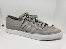 adidas Nizza Lo Trainers Men's Sneakers Solid Gray Grey Lace Up Size 13 M25593