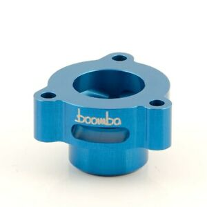 Boomba Racing Blow Off Valve Adapter Blue for Ford Fusion 1.5L/1.6L EcoBoost
