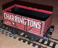 Vintage TTR Trix Tinplate 7 Plank Charringtons Open Wagon OO Gauge Free Postage