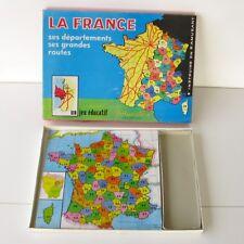 Ancien jeu de Société - LA FRANCE - Ses départements - Volumétrix -