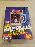1985 FLEER Baseball Wax Box 36 Sealed Packs Fresh from Case BBCE Authentic PSA ?