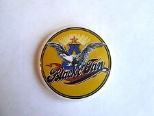 Vintage Anheuser Busch Brewery Black & Tan Beer Advertising Pinback Button