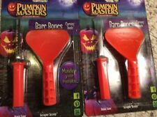 LOT of 2 - Pumpkin Masters Pumpkin Carving Kit Tools  Jack-o-lantern - Free Ship