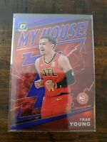 19-20 Donruss Optic Trae Young My House Purple Prizm SP!! CLEAN! PSA 10? INVEST
