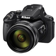 Nikon Coolpix P900 S 16MP 83x Optical Zoom Digital Camera Black