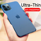 For iPhone 13 12 11 Pro XS Max Mini Slim 0.2MM Shockproof Matte Hard Case Cover