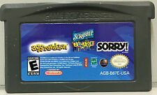 AGGRAVATION - SCRABBLE JUNIOR - SORRY! 3 GAMES IN 1 - GAMEBOY ADVANCE GAME - GBA