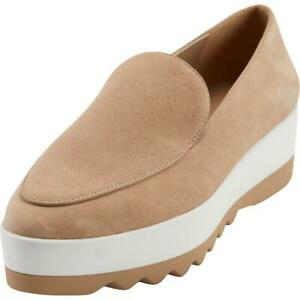 DKNY Womens Karan Taupe Slip On Fashion Loafers Shoes 8.5 Medium (B,M) BHFO 5058