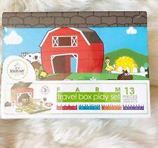 Farm Travel Box Play Set 13 Pieces Kidkraft