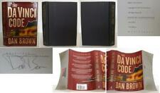 Dan Brown / The Da Vinci Code Signed 1st Edition 2003 #0105276