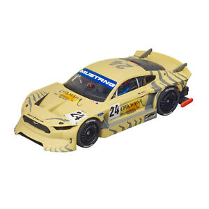"""Carrera EVO 1:32 Ford Mustang GTY """"No.24"""" suit scalextric"""