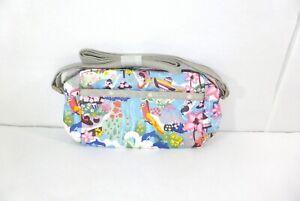 Le Sportsac Ladies Nylon Daniella Crossbody Bag Island Party 2434 F197 NWT