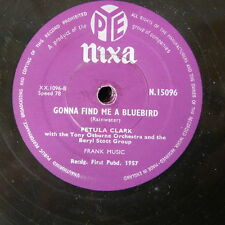 78rpm PETULA CLARK gonna find me a bluebird / with all my heart