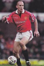 Football Photo>JAAP STAM Man Utd 1999-2000