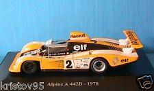 ALPINE RENAULT A 442B #2 V6 1978 PIRONI JAUSSAUD ELIGOR
