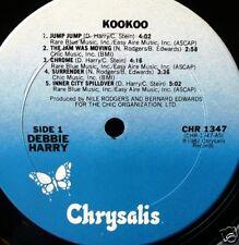 DEBBIE HARRY KOOKOO-US 1981 LP VINILE MINT