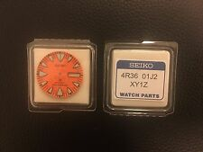 Seiko Monster SRP307 SRP309 SRP311& 313Genuine Orange Dial 200m Divers Automatic