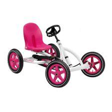 BERG Toys Berg Buddy Pedal Go Kart - White and Pink