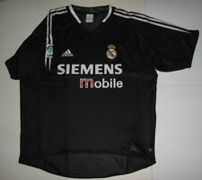 MAILLOT REAL MADRID,BLACK L,2004/2005,ADIDAS,FOOTBALL,GALACTICOS,JERSEY,CAMISETA