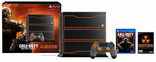 PLAYSTATION 4 PS4 1TB CONSOLE CALL OF DUTY BLACK OPS 3 III LIMITED EDITION (MINT