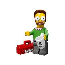 LEGO Minifigure Ned Flanders The Simpsons Series 1 Sealed Polybag Genuine 71005