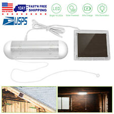 For Home Shed Garage Security Kit Emergency Light LED Solar Lights Pull Switch