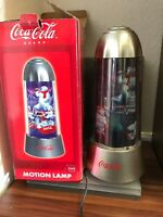 Coca Cola Motion Lamp 36 cm. mit Ovp. Top Zustand