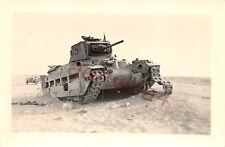 Kettenschaden engl. Panzer Matilda II Tank bei Tobruk Libyen Afrika