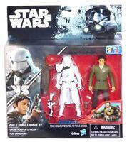 Star Wars Force Awakens Vs Series First Order Snowtrooper Officer Poe Dameron!