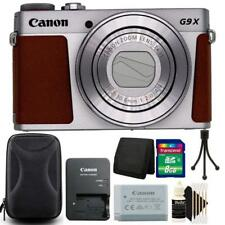 Canon Powershot G9 X Mark II 20.1MP Digital Camera Silver with Accessory Kit