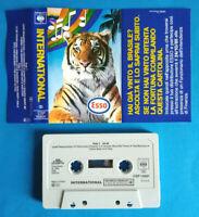 MC Musicassetta Compilation INTERNATIONAL Esso Holland 1985 Stranglers no cd