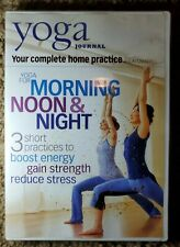 YOGA JOURNAL: YOGA FOR MORNING, NOON & NIGHT DVD WITH JASON CRANDELL
