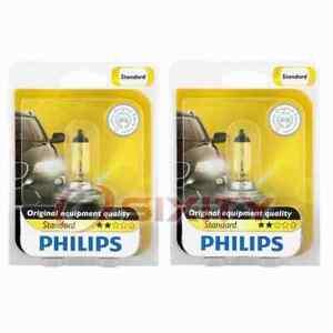 2 pc Philips Low Beam Headlight Bulbs for Mazda 3 3 Sport 5 6 CX-7 MX-5 MX-5 en