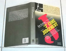 Sue Grafton J COME JUDGEMENT - Interno Giallo Mondadori 1 ed 1994